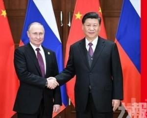 習近平和普京互致新年賀電