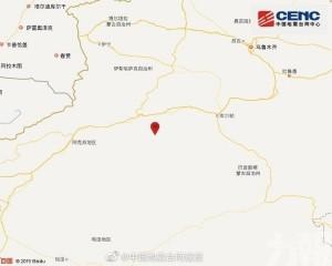 新疆阿克蘇地區發生5.6級地震