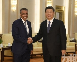 譚德塞:中國防疫作為令世人敬佩