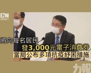 當局公布多項抗疫紓困措施