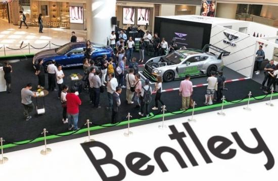 賓利香港——錦龍呈獻!全新GT3賽車首臨香港