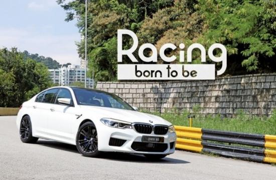BMW M5 生於賽道