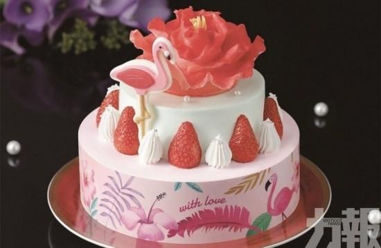 送給媽咪!粉紅蛋糕細味幸福