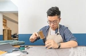 90後本土皮藝達人 還原復古手造皮包