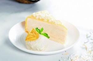夏日風味!Lady M椰子千層蛋糕