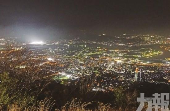 北九州皿倉山浪漫夜景