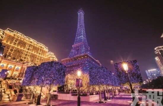 巴黎人聖誕光效匯演
