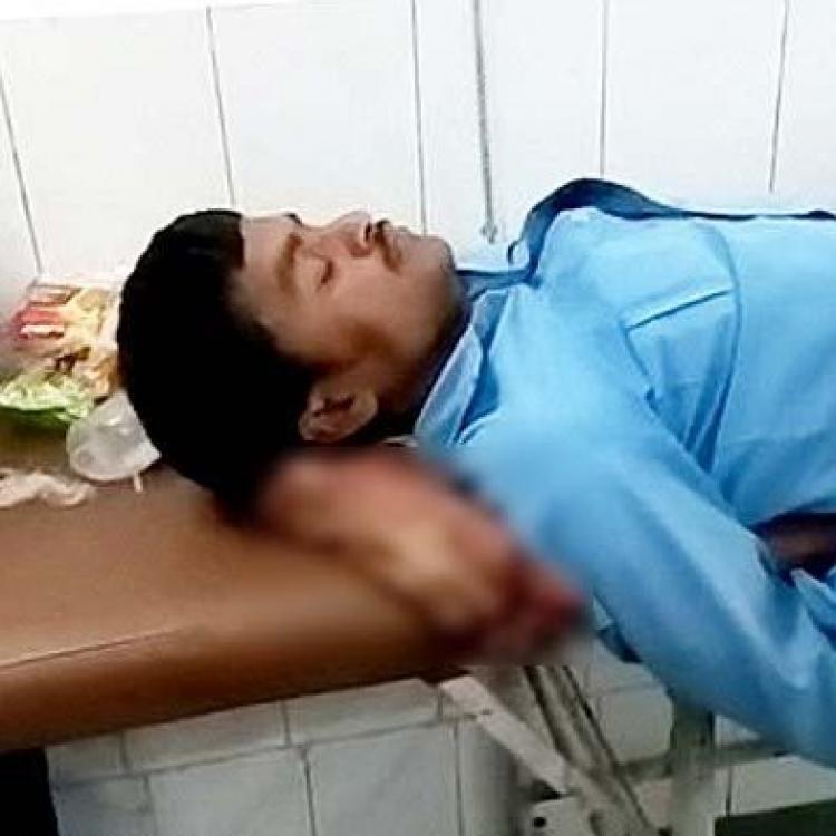 印男車禍需截肢 斷腳被當枕頭