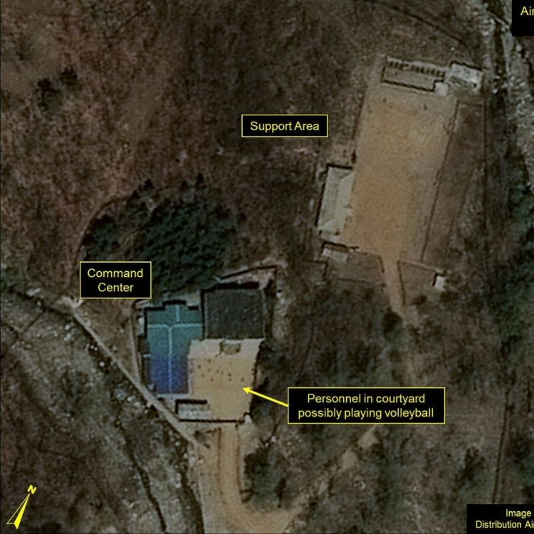 證朝鮮豐溪里核試場已崩塌
