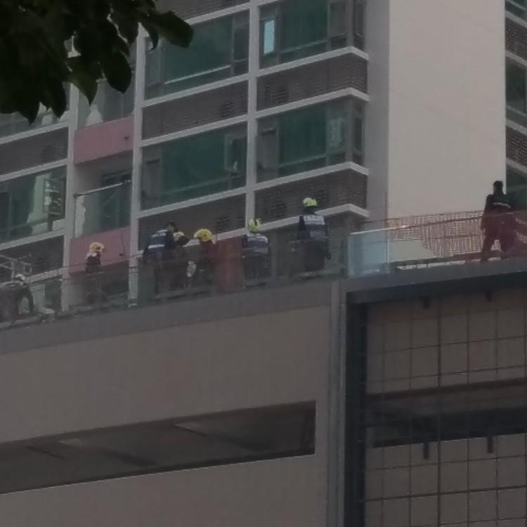 四工人十六樓屋頂危坐